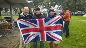 Flying the flag with Tim and Texas John